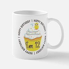 12th Birthday Cupcake Mug