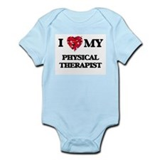 I love my Physical Therapist hearts desi Body Suit