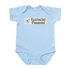 EucharistPoweredBumperSticker Body Suit
