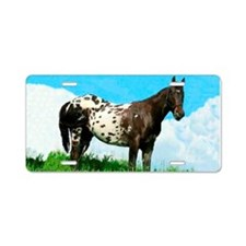 Blanket Appaloosa Horse Aluminum License Plate