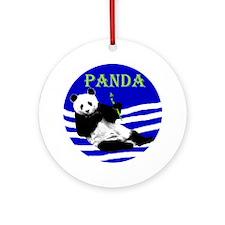 Beijing Panda 2008- Ornament (Round)