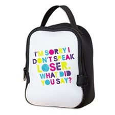 Pitch Perfect Loser Neoprene Lunch Bag