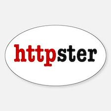 httpster Sticker (Oval)
