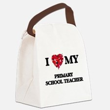 I love my Primary School Teacher Canvas Lunch Bag