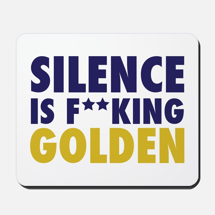 Entourage:Silence Is Golden Mousepad