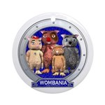 Wombies' Blue Group Portrait Ornament (Round)