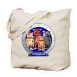 Wombies' Blue Group Portrait Tote Bag