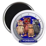 Wombies' Blue Group Portrait Magnet