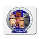 Wombies' Blue Group Portrait Mousepad