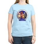 Wombies' Blue Group Portrait Women's Light T-Shirt