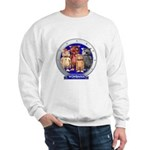 Wombies' Blue Group Portrait Sweatshirt