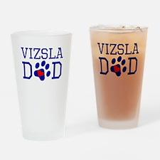 Vizsla Dad Drinking Glass