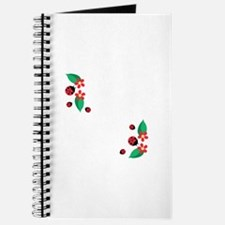 Ladybug Flowers Journal