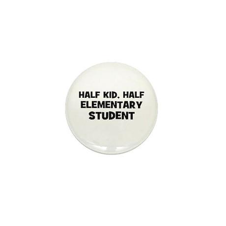 Half Kid, Half Elementary Stu Mini Button (10 pack