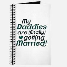 My 2 Daddies Wedding Journal