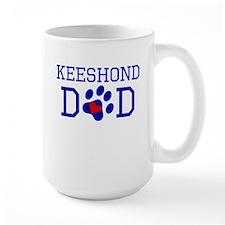 Keeshond Dad Mugs
