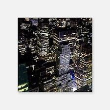 "Gotham Square Sticker 3"" x 3"""