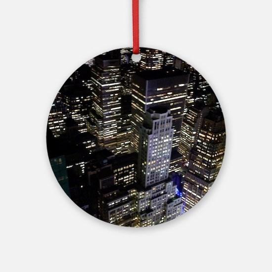 Gotham Round Ornament