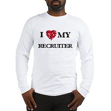 I love my Recruiter hearts des Long Sleeve T-Shirt