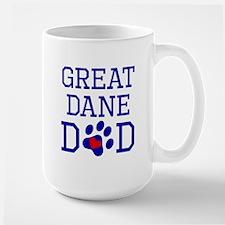 Great Dane Dad Mugs