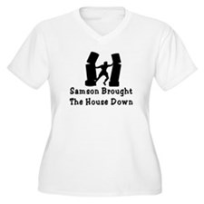 Samson Brought The House Down T-Shirt