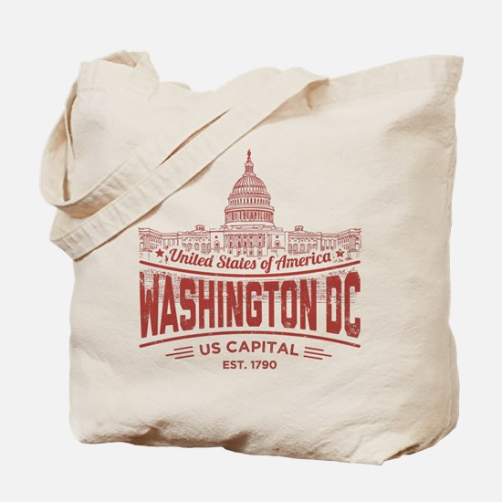 US CAPITAL (RED) Tote Bag