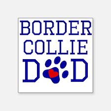 Border Collie Dad Sticker