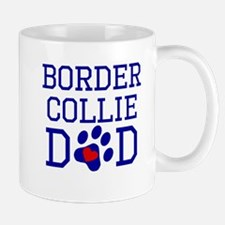 Border Collie Dad Mugs
