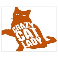 Crazy Cat Lady Canvas Art