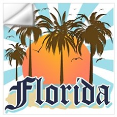 Florida The Sunshine State Wall Decal