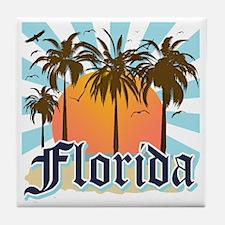 Florida The Sunshine State Tile Coaster