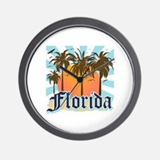 Florida The Sunshine State Wall Clock