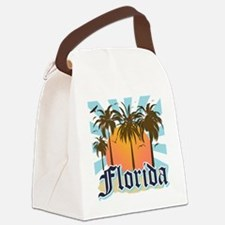 Florida The Sunshine State Canvas Lunch Bag
