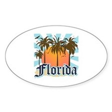 Florida The Sunshine State Decal