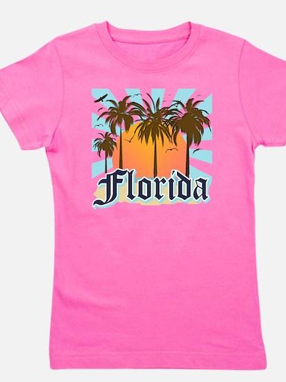 Florida The Sunshine State Girl's Tee