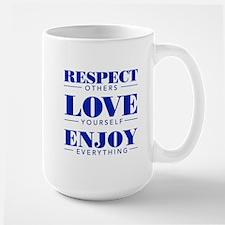 Respect, Love , Enjoy - Mugs