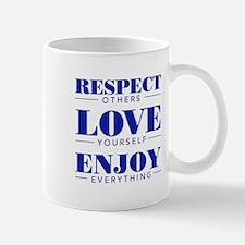 Respect, Love, Enjoy - Mugs