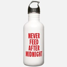 Never Feed After Midnight Water Bottle