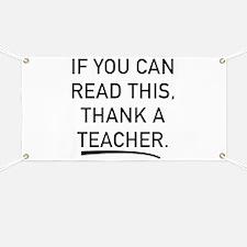 Thank A Teacher Banner