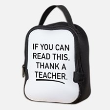 Thank A Teacher Neoprene Lunch Bag