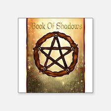 Book of shadows Sticker