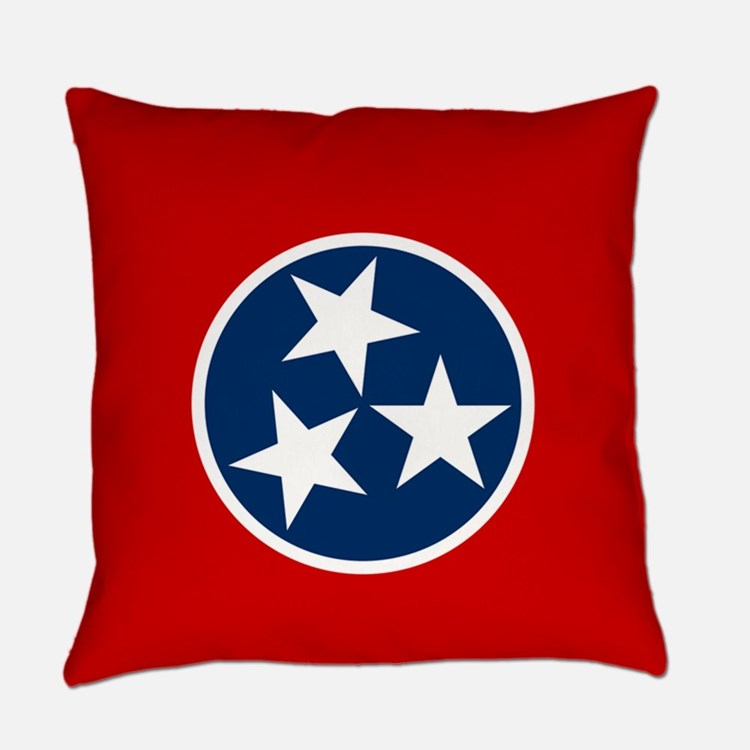 Tennessee State Flag Everyday Pillow