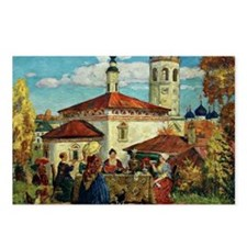 Kustodiev, In Old Suzdal Postcards (Package of 8)