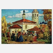 Kustodiev, In Old Suzdal
