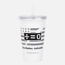 One Nation Acrylic Double-Wall Tumbler