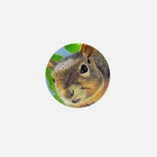 Cute Squirrel lover Mini Button