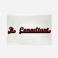 It Consultant Classic Job Design Magnets