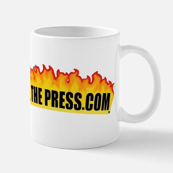 fire t p .com black Mugs