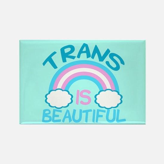 Pretty Trans Rectangle Magnet