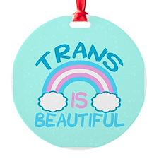 Pretty Trans Ornament